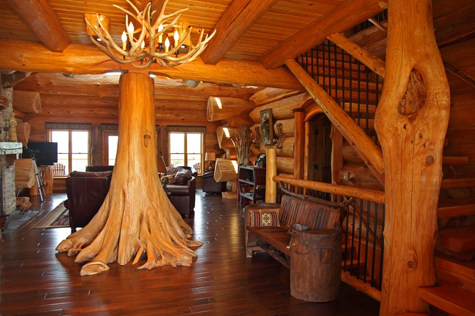 construc ii de vis din bu teni pioneer log homes radio an. Black Bedroom Furniture Sets. Home Design Ideas
